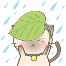 Simi, The siamese kitten (version 2) sticker #5905094