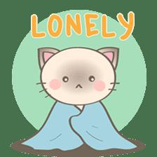 Simi, The siamese kitten (version 2) sticker #5905095