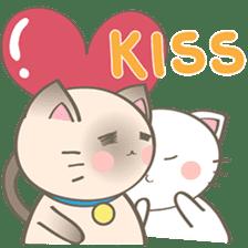 Simi, The siamese kitten (version 2) sticker #5905096