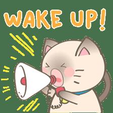 Simi, The siamese kitten (version 2) sticker #5905098