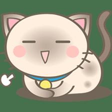 Simi, The siamese kitten (version 2) sticker #5905099