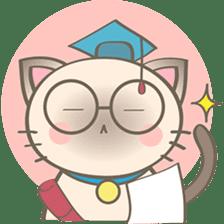 Simi, The siamese kitten (version 2) sticker #5905101