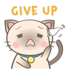 Simi, The siamese kitten (version 2) sticker #5905104