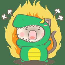 Simi, The siamese kitten (version 2) sticker #5905105