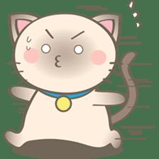 Simi, The siamese kitten (version 2) sticker #5905106