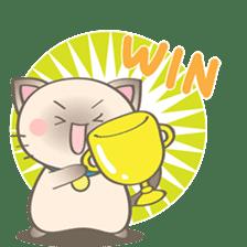 Simi, The siamese kitten (version 2) sticker #5905112