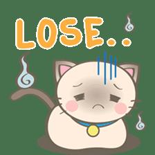 Simi, The siamese kitten (version 2) sticker #5905114