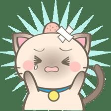 Simi, The siamese kitten (version 2) sticker #5905115
