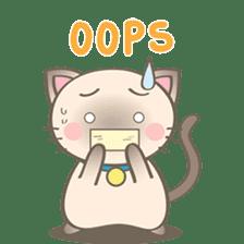 Simi, The siamese kitten (version 2) sticker #5905118