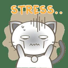 Simi, The siamese kitten (version 2) sticker #5905119