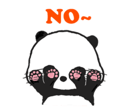 Sweet Panda & Honey Pig sticker #5909330