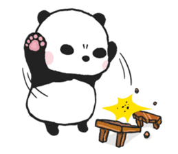 Sweet Panda & Honey Pig sticker #5909334