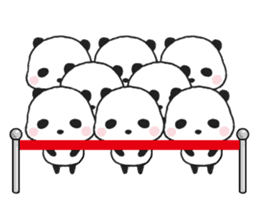 Sweet Panda & Honey Pig sticker #5909356