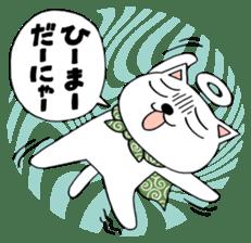 Nekojiru Sticker Nekogamisama sticker #5912373