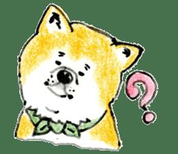 Life of the Japanese Akita sticker #5912761