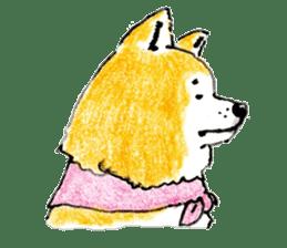 Life of the Japanese Akita sticker #5912767