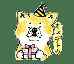 Life of the Japanese Akita sticker #5912770