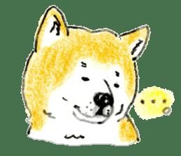 Life of the Japanese Akita sticker #5912773