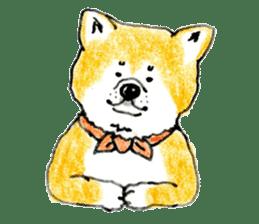 Life of the Japanese Akita sticker #5912777