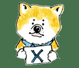 Life of the Japanese Akita sticker #5912779