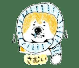 Life of the Japanese Akita sticker #5912785