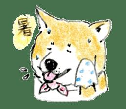 Life of the Japanese Akita sticker #5912786