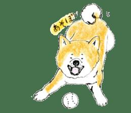Life of the Japanese Akita sticker #5912789