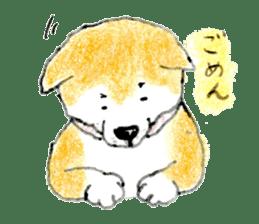 Life of the Japanese Akita sticker #5912796