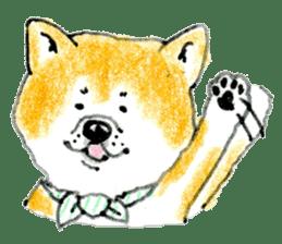 Life of the Japanese Akita sticker #5912797