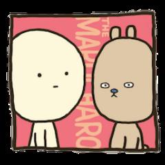Stickers of Marucharo and Dubi