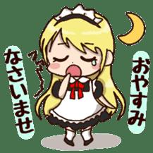 pretty maid sticker #5920003