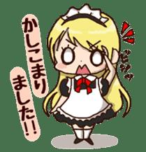 pretty maid sticker #5920004