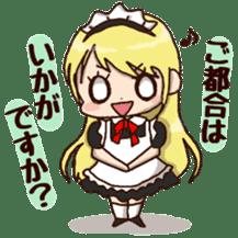 pretty maid sticker #5920008