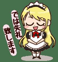 pretty maid sticker #5920011