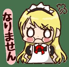 pretty maid sticker #5920012
