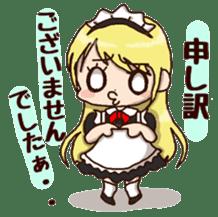 pretty maid sticker #5920017