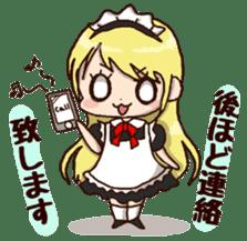 pretty maid sticker #5920020