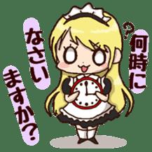 pretty maid sticker #5920021