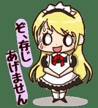 pretty maid sticker #5920023