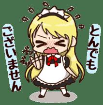pretty maid sticker #5920031