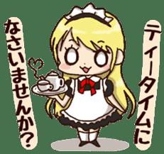 pretty maid sticker #5920032