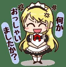 pretty maid sticker #5920034