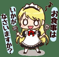 pretty maid sticker #5920037
