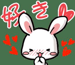 Always together Rabbit & Bear's love2 sticker #5922327