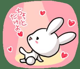 Always together Rabbit & Bear's love2 sticker #5922329