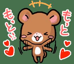 Always together Rabbit & Bear's love2 sticker #5922336
