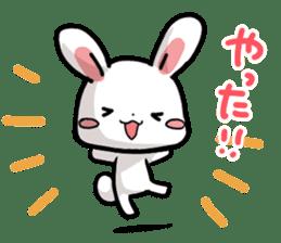 Always together Rabbit & Bear's love2 sticker #5922338
