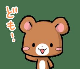 Always together Rabbit & Bear's love2 sticker #5922343