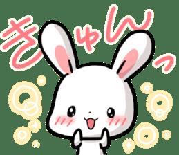 Always together Rabbit & Bear's love2 sticker #5922345