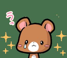 Always together Rabbit & Bear's love2 sticker #5922346